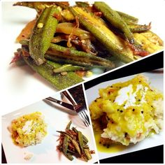 """ #dinner #selfmade #yummy #yummydinner #desi #desifood #desikhana #okra #bhindi #rice #daal #masala #spicy #indianfood #indianspice #cook"""