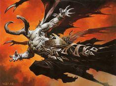 Wayne Reynolds Xathrid Demon... Frigin amazing job.