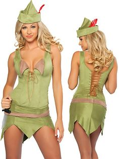 Robin Hood never had it this good... :-P ... Sexy Peter Pan Costumes for Women