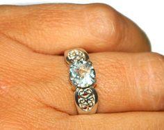 Green Amethyst Ring, Middle Finger Ring, Low Profile Ring, Green Prasiolite Ring, - Edit Listing - Etsy