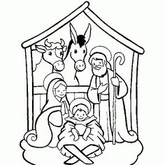 christmas coloring pages for preschool christmas coloring coloring of a christmas crib free coloring