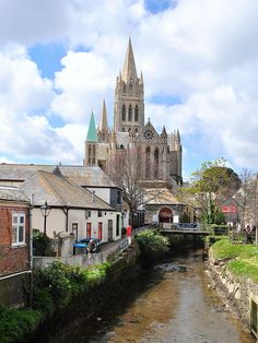 Truro Cathedral by Baz Richardson, via Flickr