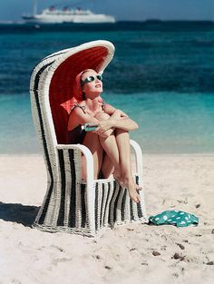 Don't you want to be her right now? We've had beautiful summer weather here in Southern California this week, so I headed to the beach for a break only to realize that I don't own a proper beach chair. I might have to buy one of these. Hope you all have a great weekend!