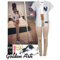 New york yankees xx orlando magic in 2019 Swag Outfits, Dope Outfits, Urban Outfits, Casual Outfits, Summer Outfits, Dress Outfits, Urban Fashion, Teen Fashion, Fashion Outfits