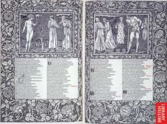 The Works of Geoffrey Chaucer. Illustrations by E. Burne-Jones, engraved on wood by W.H. Hooper, The Kelmscott Press, Hammersmith (London), 1896 Briitsh Library C.43.h.19 Copyright © The British Library Board