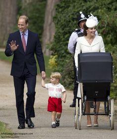 Duchess Kate: Princess Charlotte's Christening