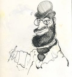 Copy of Toulouse Lautrec by Ronald Searle
