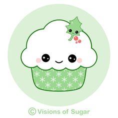 Green Cupcake :)