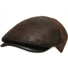 Amazon.com: ililily New Men¡¯s Flat Cap Vintage Cabbie Hat Gatsby Ivy Caps Irish Hunting Hats Newsboy with Stretch fit - 001-3 Dark Brown: Clothing