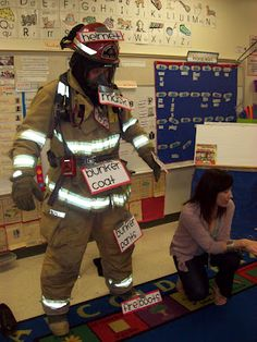Label a Real Fireman
