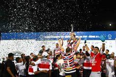 Santa Cruz celebram conquista do campeonato pernambucano no Arruda – Pulo Paiva