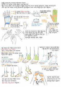 그림 잘그리는법/손,팔,다리 그리기/연성 : 네이버 블로그