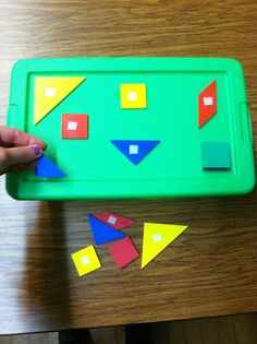 Little Miss Kimberly Ann: Task Box Ideas Continued shape naming, color matching Autism Classroom, Classroom Activities, Work Activities, Toddler Activities, Classroom Ideas, Visual Schedule Autism, Kindergarten Special Education, Self Contained Classroom, Work System