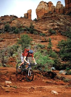 Mountain Biking: Fun, Excitement For All Levels In Sedona, Arizona: https://www.forbes.com/sites/lealane/2017/03/03/mountain-biking-fun-excitement-for-all-levels-in-sedona-arizona/#26ef3ea03614