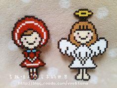 Love the Little Angel - Perler Beads