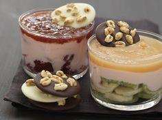 Verrines des lolitas et des petits musclés - La Table à Dessert