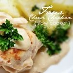 Four Cheese Chicken { Slow Cooker } Recipe Thinking so make this because i have all the cheeses.  I wonder how it will be!