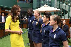 Kate Middleton at Wimbledon 2016