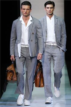 @GiorgioArmani Spring/Summer 2013