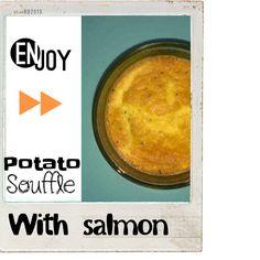 Potato souffle. Family food by annabel karmel