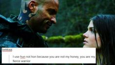 The 100 + Text Posts || Lincoln and Octavia Blake || Linctavia || Ricky Whittle and Marie Avgeropoulos