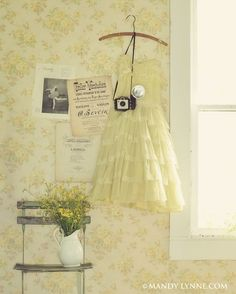 Art Print: Vintage Snap Shot Wall Art by Mandy Lynne by Mandy Lynne : Yellow Cottage, Rose Cottage, Rosa Pink, Professional Photo Lab, Shades Of Yellow, Colour Yellow, Mellow Yellow, Baby Yellow, Mustard Yellow