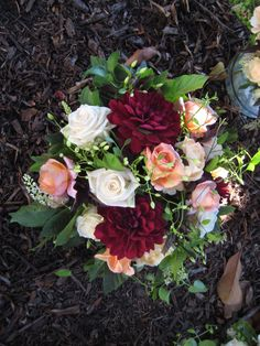 """This is one of the things that came up when I looked up """"August Wedding Colors"""" They're pretty!"""