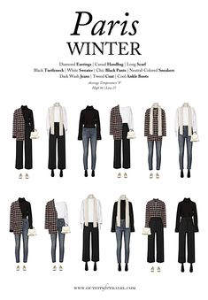 What to Wear to Paris in the Winter: A Capsule Wardrobe Outfits for Travel- - . - What to Wear to Paris in the Winter: A Capsule Wardrobe Outfits for Travel- – wardrobe.decordiy…- Source by - Paris Outfits, Capsule Outfits, Fall Capsule Wardrobe, Fashion Capsule, Travel Wardrobe, Mode Outfits, Travel Outfits, Winter Wardrobe, 10 Piece Wardrobe