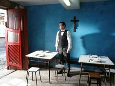 This looks amazing ... Centro Histórico (2012) O Tasqueiro (Tavern Man) by Aki Kaurismaki