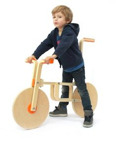 The Ultimate Ikea Hack: A bike made from a stool.