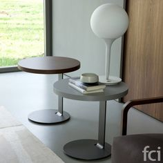Single #SideTable by #Porada starting from £553. Showroom open 7 days a week.   #fcilondon #furniture_showroom_london #furniture_stores_london #porada_furniture   #porada_tables #modern_tables