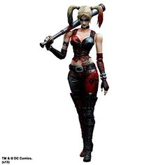 Batman Arkham City Play Arts Kai Harley Quinn by Square Enix @ niftywarehouse.com #NiftyWarehouse #Batman #DC #Comics #ComicBooks