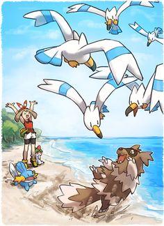 Route 204 maybe Pokemon Regions, Pokemon Advanced, Ash And Misty, Pokemon Oc, Pokemon Special, Best Waifu, Fantastic Art, Pretty Art, Digimon