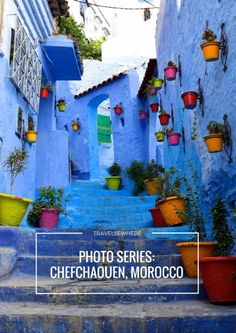 Photo Series: Blue city of Chefchaouen, Morocco @travelsewhere