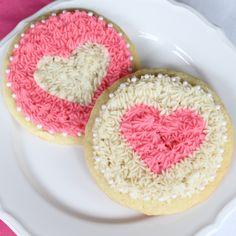 Valentijns Suiker Hartjes Koeken ❤ Valentine Heart Sugar Cookies