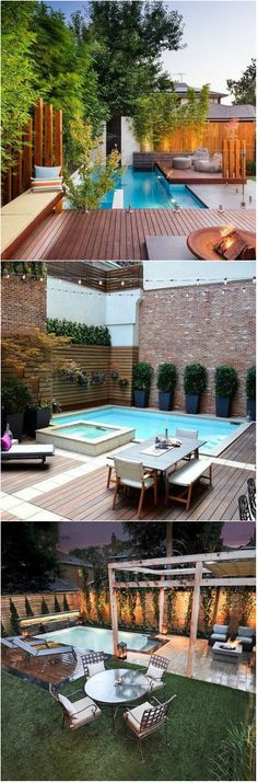 Size is relative and because of this, what may appear as a large home to one person may seem small to another. The same goes for backyard swimming pools; while some people prefer large pools, others are drawn to small swimming pools. If you have a small backyard, you should find it easy to add a...