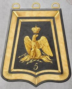 le 5e Régiment de Hussards 1793-1815 Army Uniform, Military Uniforms, Empire, Colonel, Battle Of Waterloo, French Army, Gold Work, Napoleonic Wars, Military History