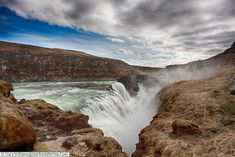 Gullfoss on the Golden Circle, Iceland