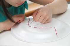 Introduce the kids to hand sewing with these fun tips and ideas in my Teaching Kids to Sew series.