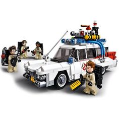 After the LEGO Simpsons, it is now the turn for the LEGO Ghostbusters to be confirmed and unveiled! Indeed, the 21108 LEGO Ghostbusters kit has been announced Lego Ninjago, Lego Duplo, Lego Simpsons, Lego Ecto 1, Legos, Die Geisterjäger, Van Lego, Proton Pack, Lego City