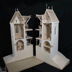 Castle of Füzér section model Scale: 1:25  #gondamodel #architect #architecture #archmodel #model #castle #hungary Arch Model, Castle, Bird, Architecture, Outdoor Decor, House, Home Decor, Arquitetura, Decoration Home