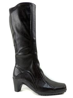 Aerosoles Women's Lasticity Knee High Boots Black Size 8.5 M #Aerosoles #KneeHighBoots #DressCasual