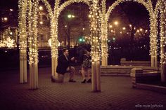 chicago winter proposal | the drake hotel | bob + katie