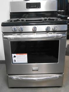 appliance city frigidaire gallery series 30 inch gas rangetrue convection ovenwith 5 sealed burners - Frigidaire Gallery Gas Range
