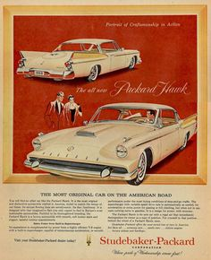 1958 Packard Golden Hawk...Mene, mene, tekel, upharsin...!   The handwriting was really on the wall for the company...
