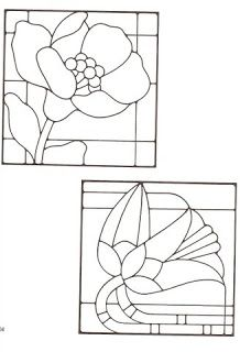 Riscos Para Bordar Glass Flowers Pinterest Stained Glass