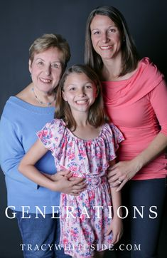 """""""Our most treasured family heirlooms are our sweet family memories."""" – Unknown Three generations in one photo. How cool is that? #family #love #generations #portraits #photography #pics #bestpic #picoftheday"""