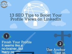 Boost your LinkedIn profile visibility. (Source: Inbound Marketing Agents) Inbound Marketing, Social Media Marketing, Profile View, Seo Tips, Text Me, Ecommerce, Need To Know, Improve Yourself, Infographics