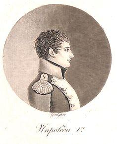 Portrait au physionotrace de Napoléon gravé par Jean Godefroy (1771-1839) - De Vinck 7869 - MAS Estampes Anciennes - Antique Prints since 1898
