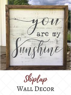 Perfect wedding sign & for house after.